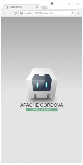Instalar Cordova - Hello World