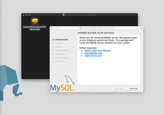 Instalar MySQL en Mac